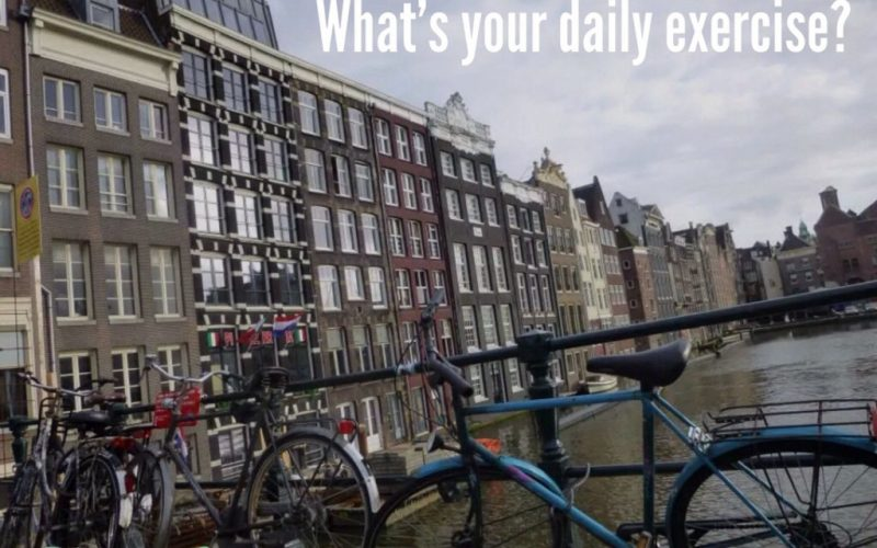 The Dutch way to daily exercise