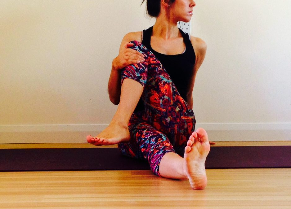 Stretches for the lower back and hips