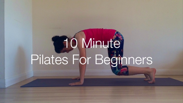 10 Minute Pilates For Beginners
