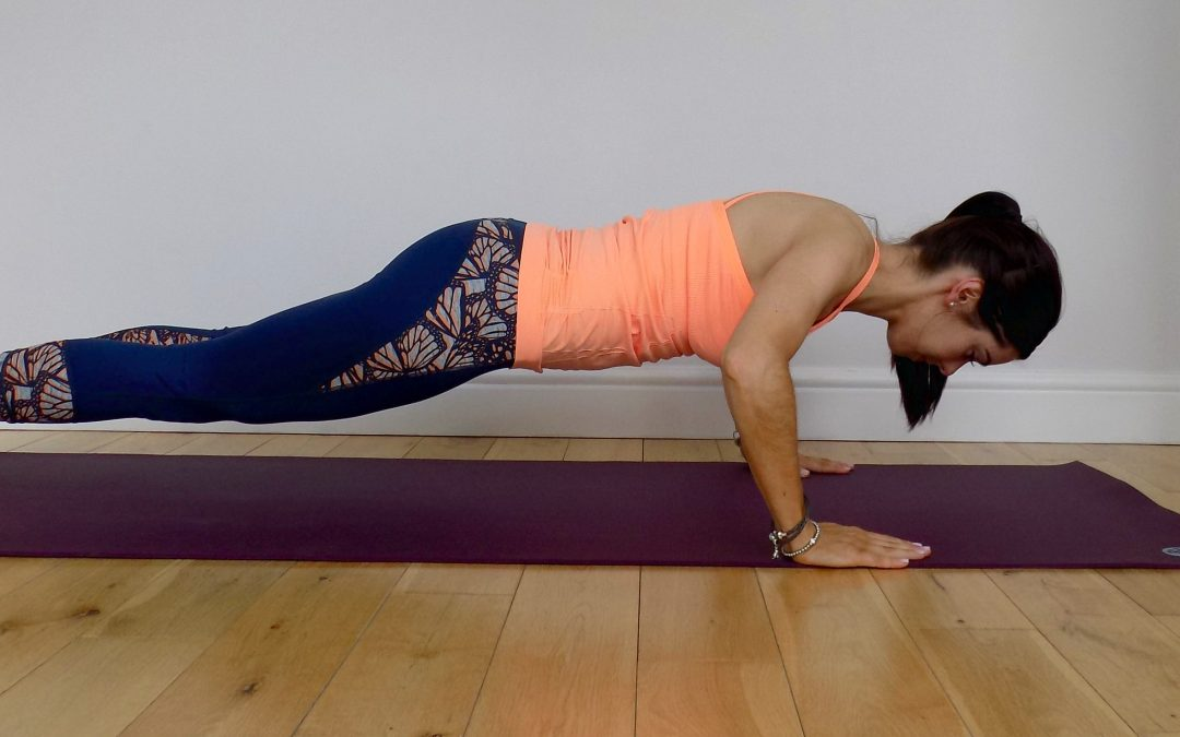 Working on your full press up