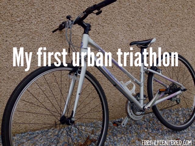 My first urban triathlon