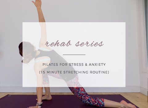How to relax and de-stress! (Pilates workout!)