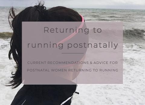 Returning to postnatal running