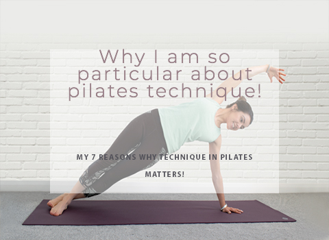 Why I'm so particular about pilates technique!
