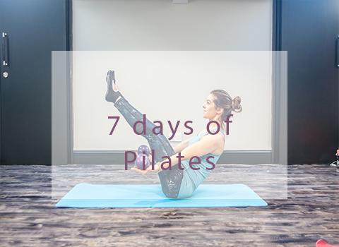 7 days of pilates